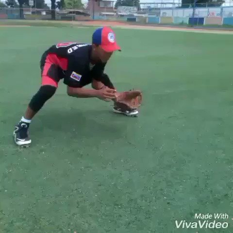 He is going to be a RIDICULOUS infielder!