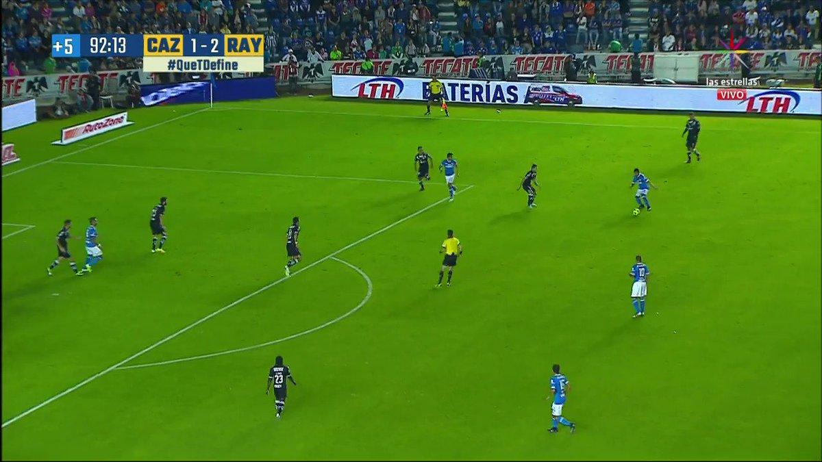 Gol de Cruz Azul. Al 90+2' Cruz Azul 2-2 Monterrey. #ElFuturoEsAzul ht...