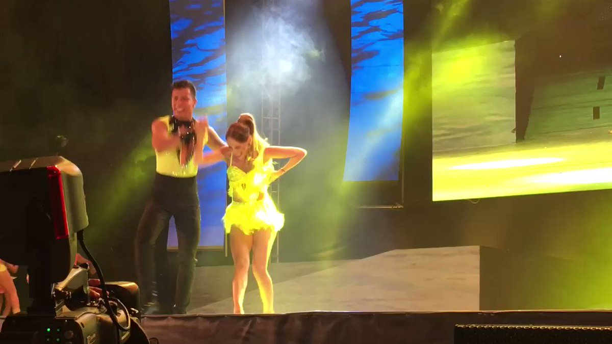 Así es como @fefimendozav demuestra sus habilidades para el baile en e...