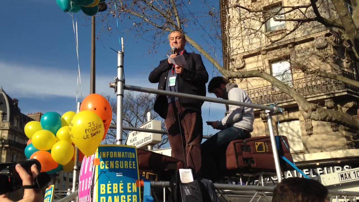 Lapsus intéressant de Jean-Pierre Maugendre: 'victoire de la vie sur l...