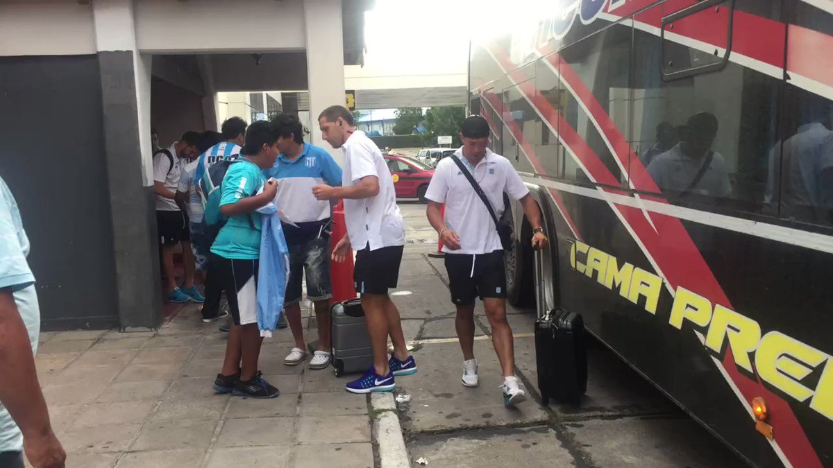 #VamosRacing La delegación Academica ya se encuentra en Salta para jug...