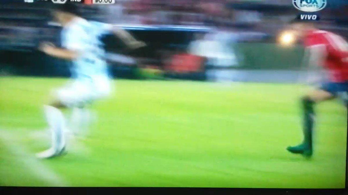 #RacingIndependiente 📽 Volvió Brian Fernández y festejó el último gol...