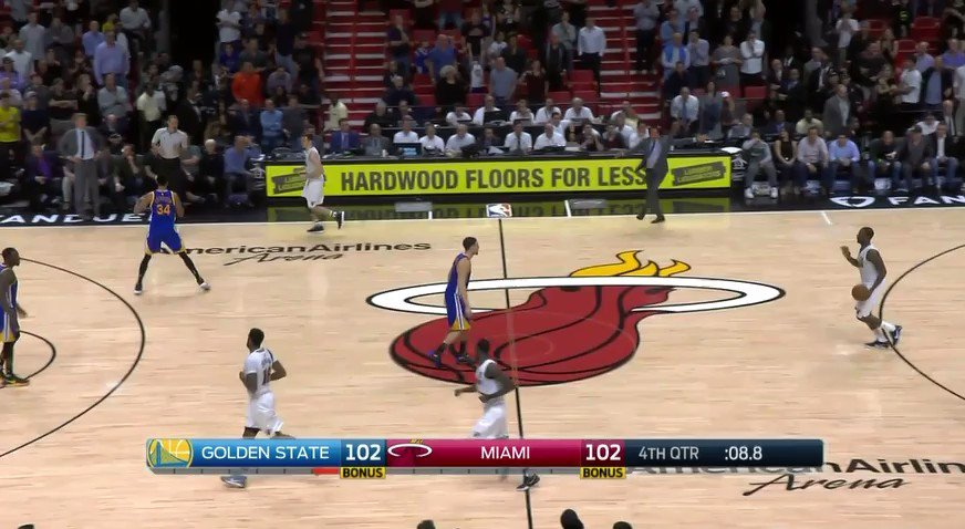 Heat's Dion Waiters drains last-second game-winning three to beat Warr...