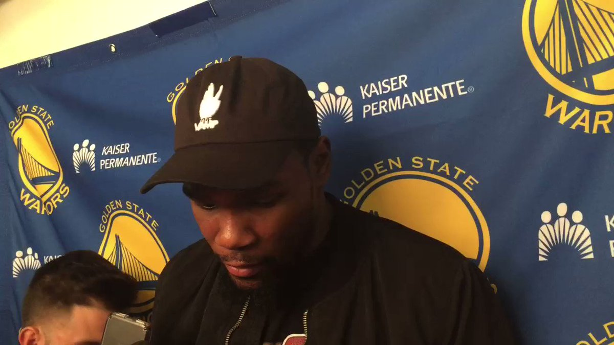 Kevin Durant: 'If anyone would hit a game-winner against me, it would...
