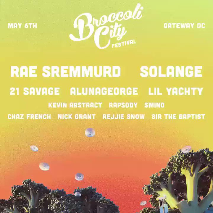 #BCFEST2017 @BroccoliCity. Tickets on sale tomorrow at 10 AM ! https://t.co/kPk4ZghkqO