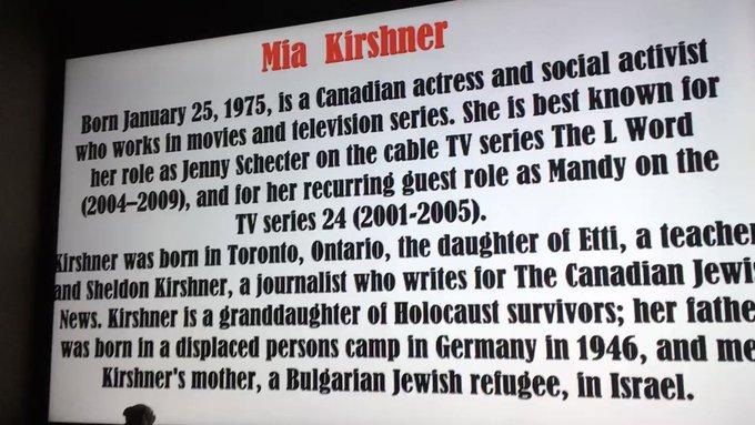 Happy Birthday Mia KIRSHNER