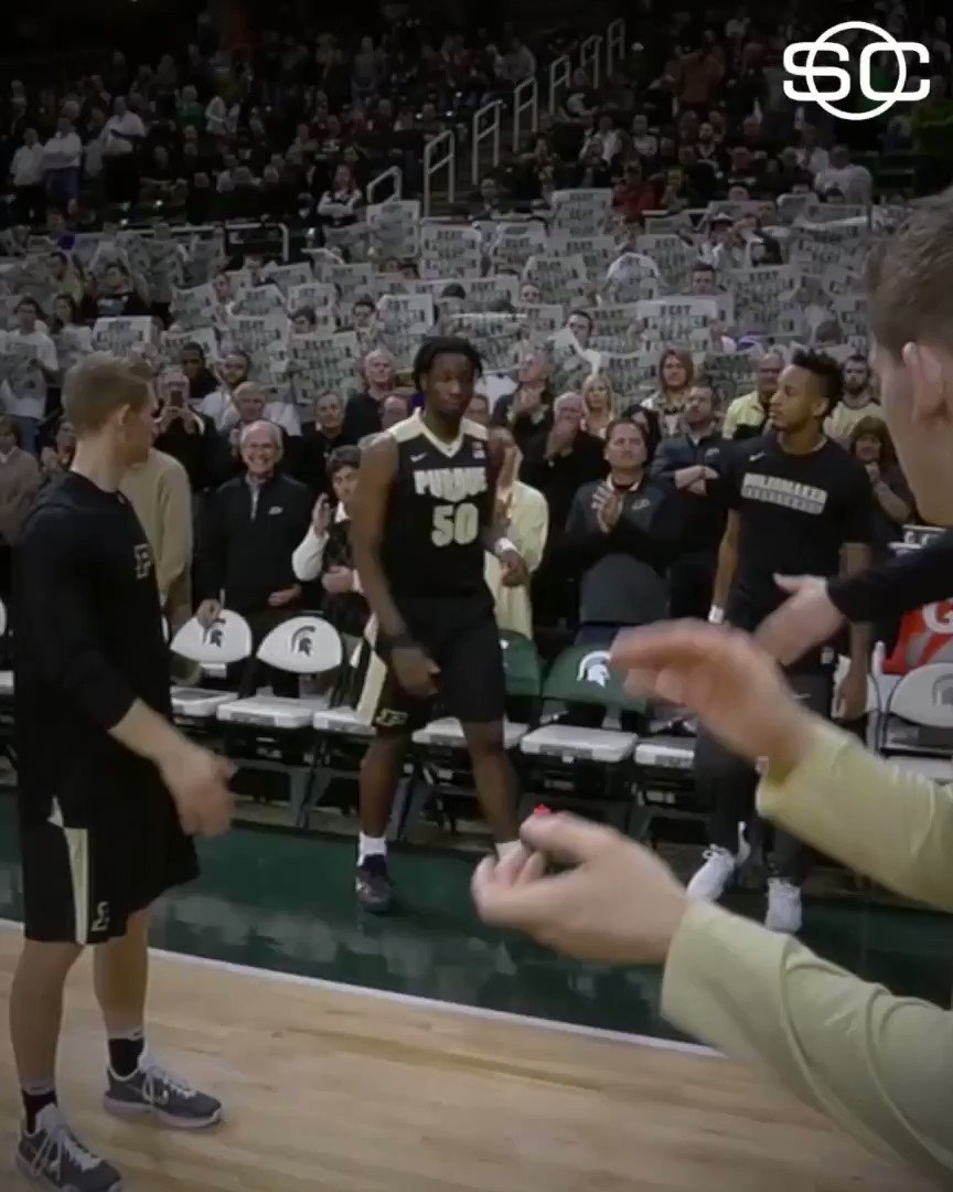 From homelessness & obesity as a child to stardom at Purdue, Caleb Swanigan is Why We Love Sports Today.