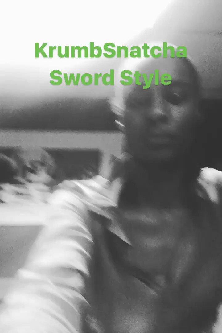 @KrumbSnatcha7 #SwordStyle ✊