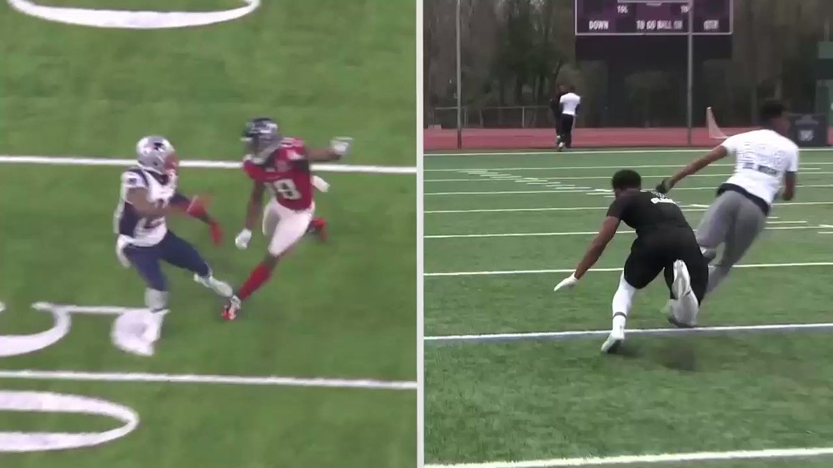 Who ran it better? @TGdadon1 or @_TheJoshuaMoore? #GETOPEN