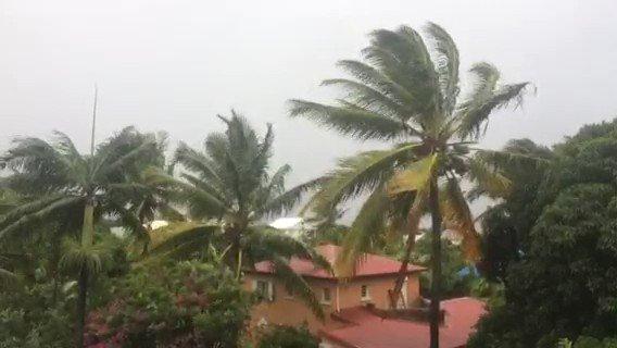 Météo France a émis un avis de vigilance vents forts sur toute l'île sauf les communes de l'ouest. https://t.co/n32ZTmZ15G