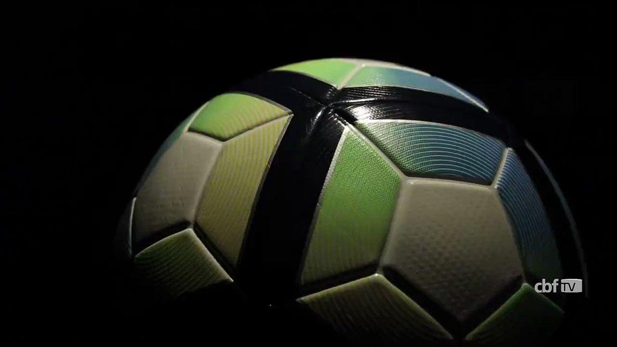 1be6ac09e0 CBF apresenta a bola que será usada na Copa do Brasil e no Brasileirão 2017.