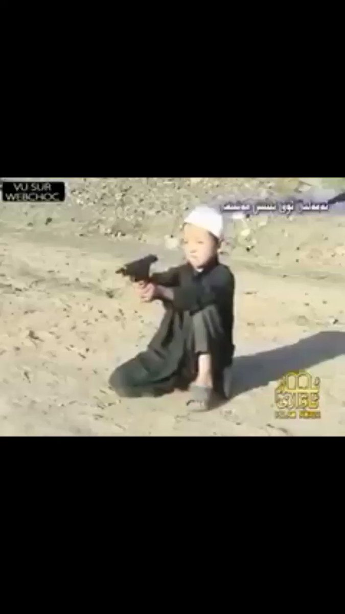 💥WATCH DISTURBING VIDEO💥 ls1am teaches children to kill at a young age & trains them to be child soldiers = future terr0rists!  In USA, Liberals can't even decide what gender their child should be!  ls1am is NOT a peaceful religion  RETWEET👉If You Agree