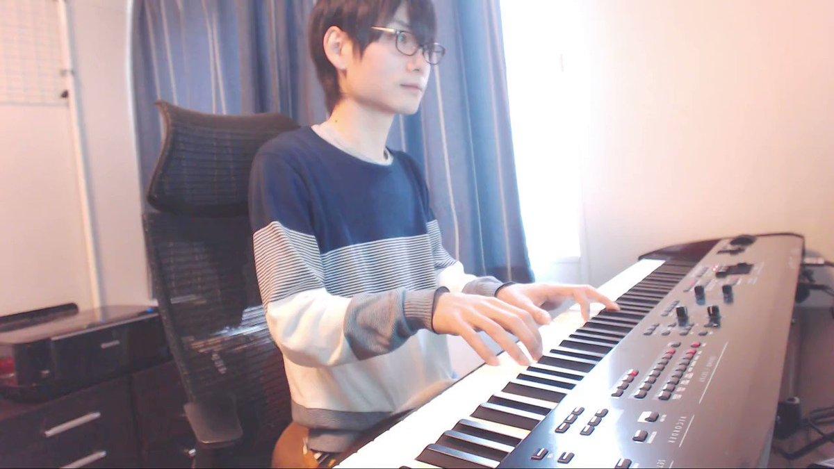 「前前前世/RADWIMPS」を情緒的にピアノアレンジしてみた|ω・)っ https://t.co/ewBvk12nny