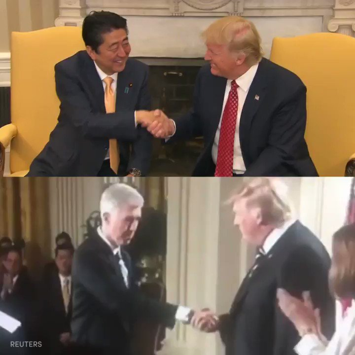Normal guy shaking hands like a normal https://t.co/FK4ICDIMv5