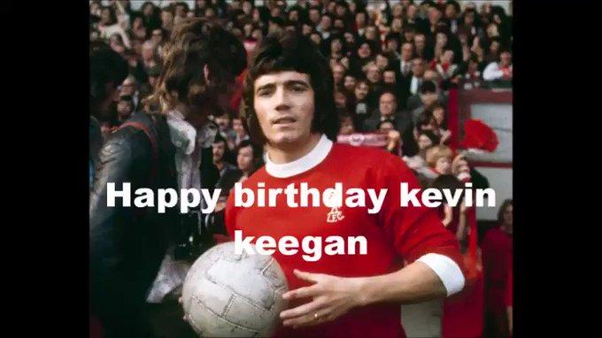 Happy birthday kevin keegan 66 today