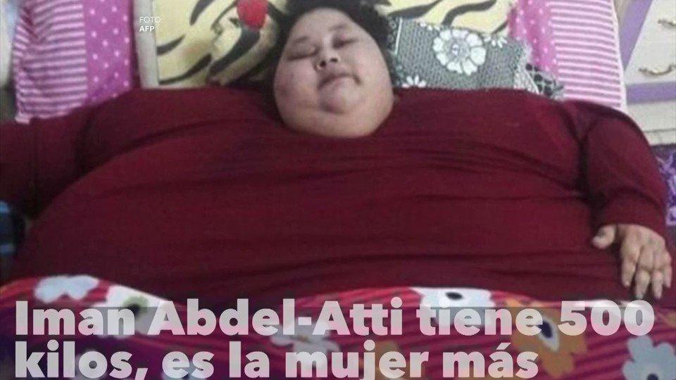 Iman Abdel Atti Tiene 500 Kilos Por Lo Que Ostenta El Ttulo De La