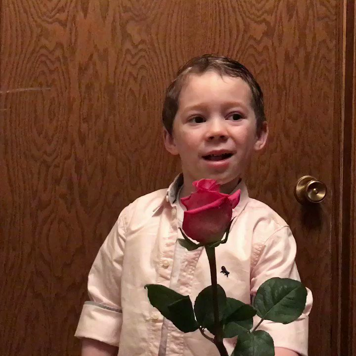 Happy Valentime's Day! He was so worried...