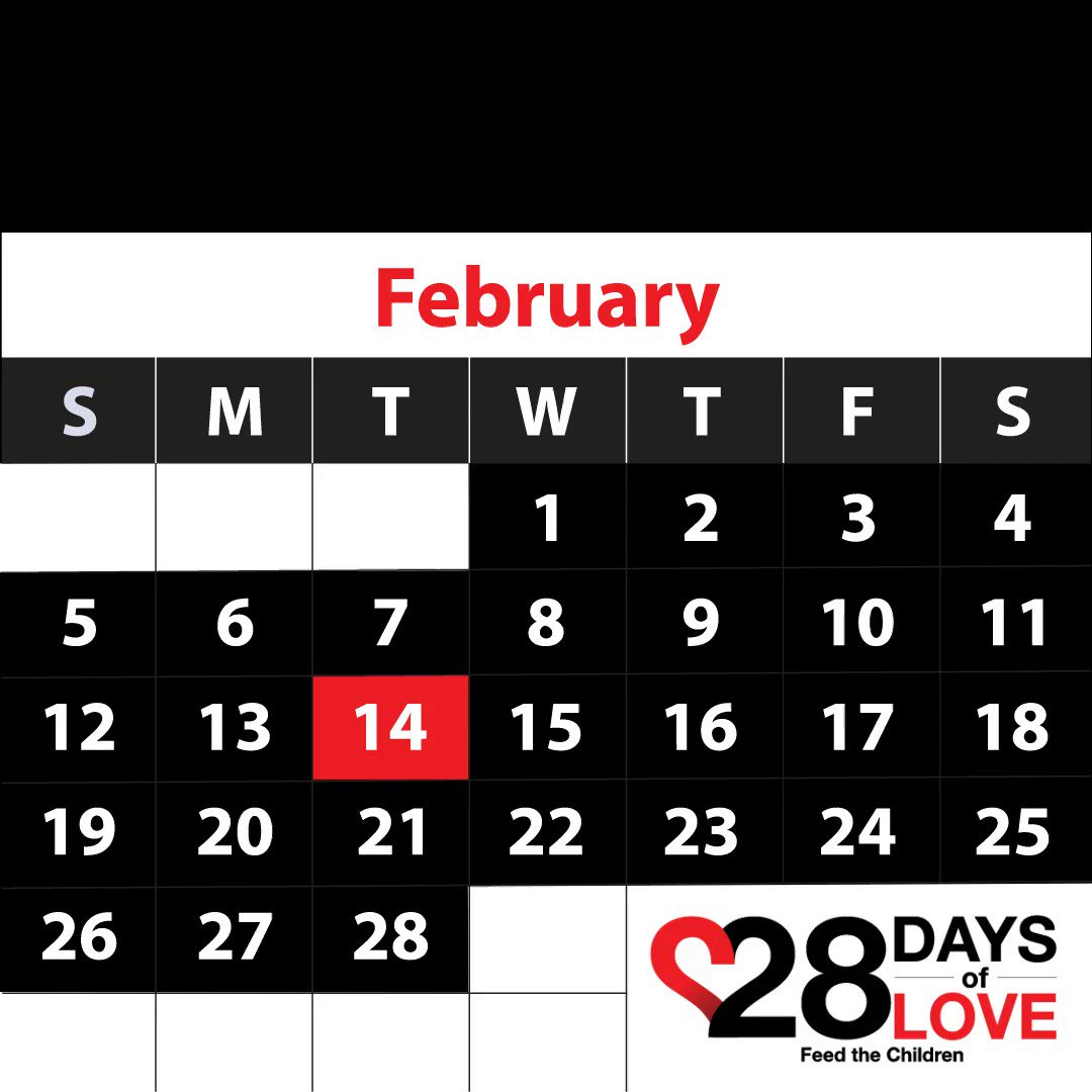 Love is more than just one day.  How has someone shown you love today? #chooselove  #sharelove  #28days