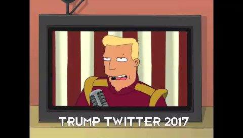 Zapp presents President TweetTheater. #MakeAmericaBrannigan https://t.co/Xj7Ko4fFPt