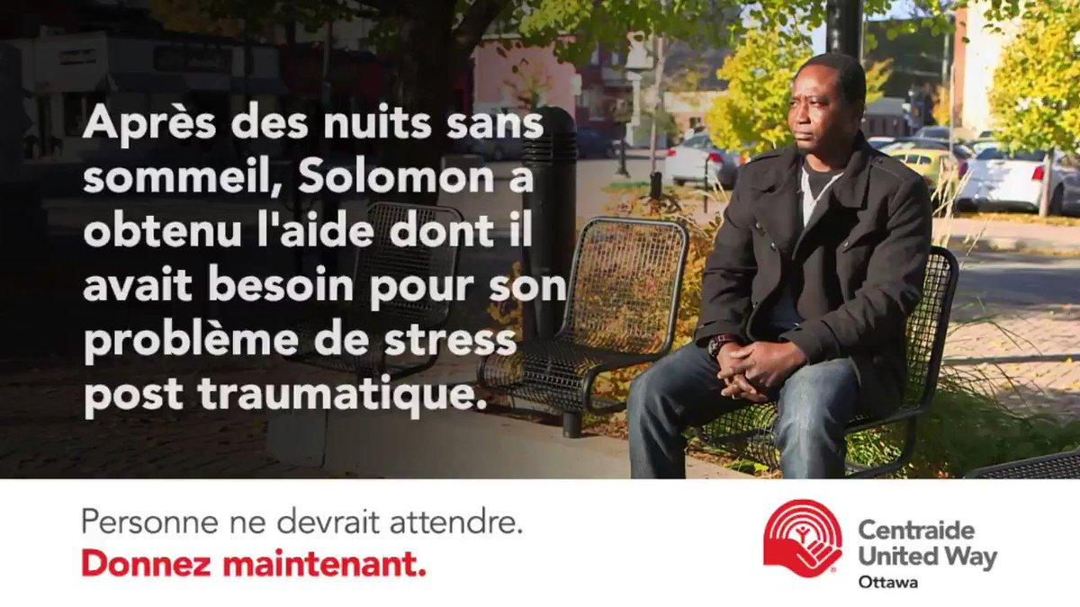 Solomon souffrait de #TSPT. Grâce @OttawaOCISO il a obtenu l'aide dont il avait besoin. https://t.co/HtejWFHzPs