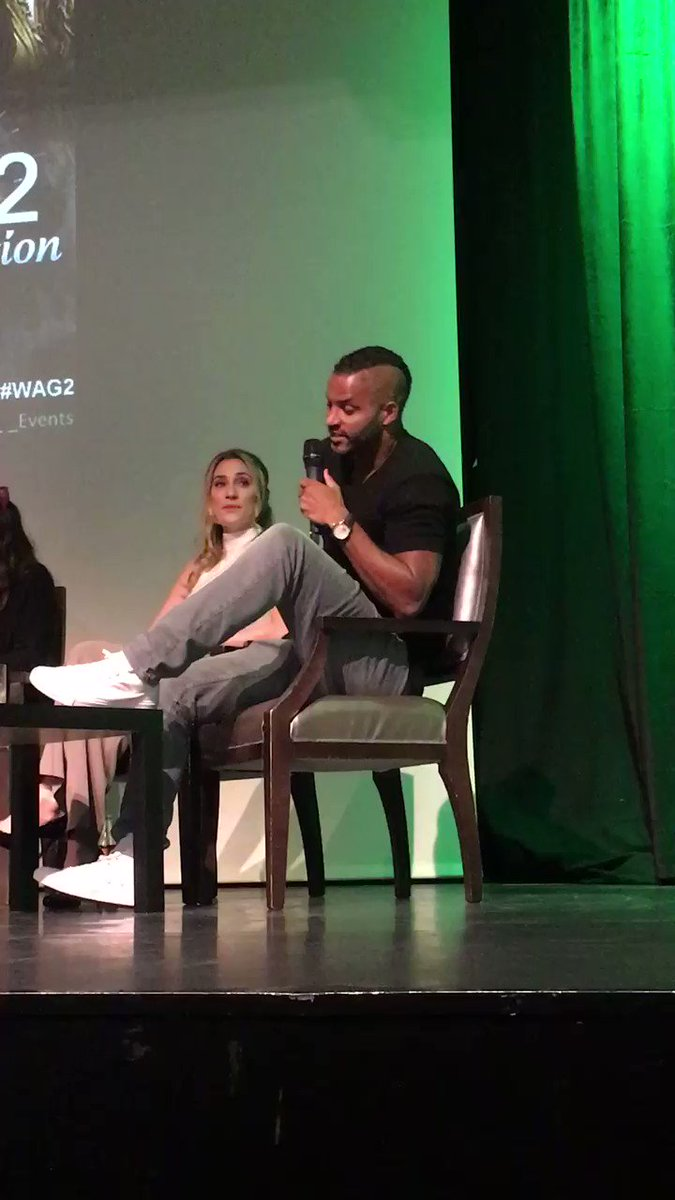 .@MrRickyWhittle about what he likes the most about Lincoln #WAG2 https://t.co/N7fenqw9a7