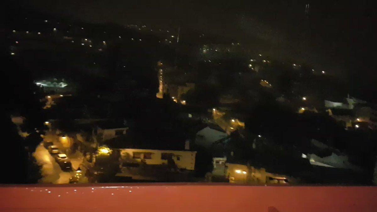 La tormenta de #Malaga en su apogeo, hace varias horas #trombaMLG vía...