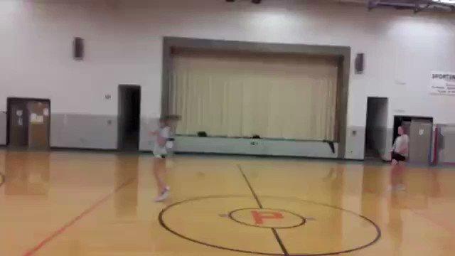 I'm hollering RT @dopeislandvines: Bro she's chuckin heat in dodgeball