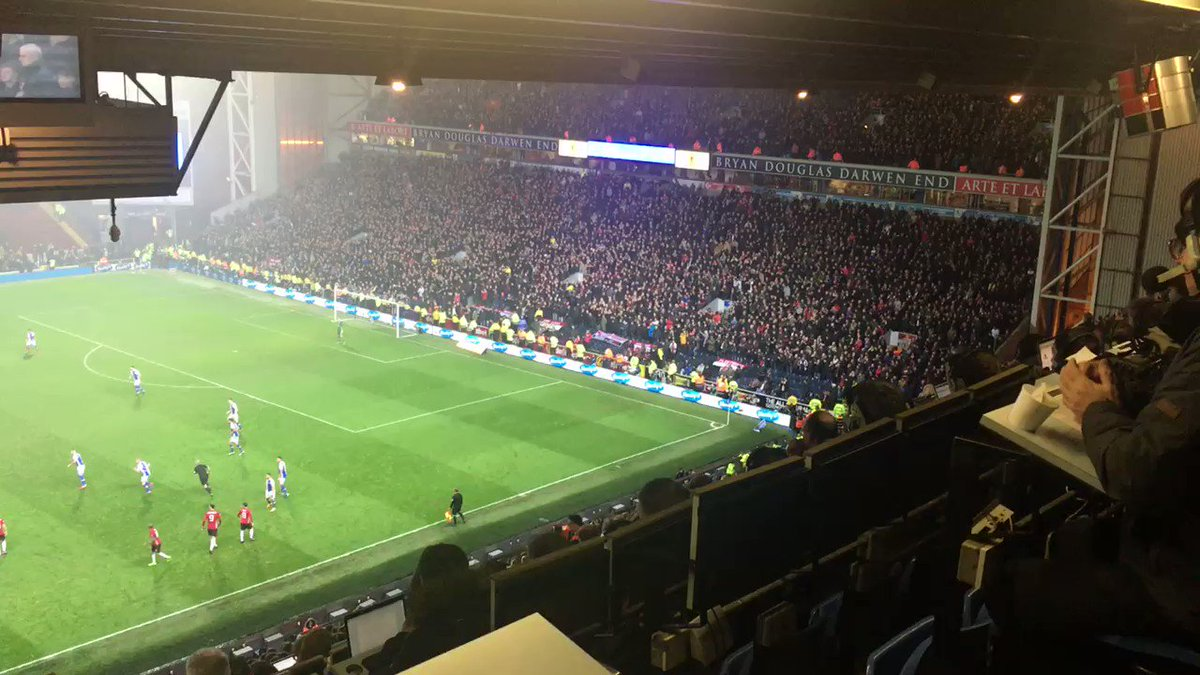 Ive gotta say that the @ManUtd Fans tonight at @Rovers game were absolutely excellent!