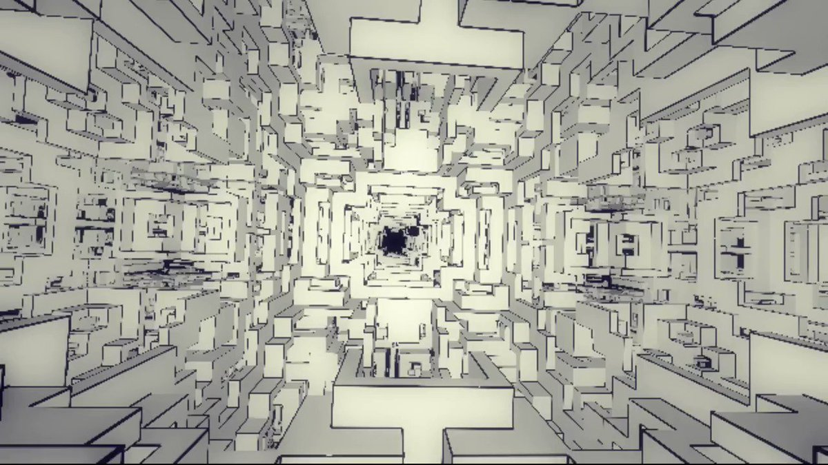 'Shift' by @FMS_Cat 1st place at @TokyoDemoFest 2017 fms-cat.github.io/shift/dist/