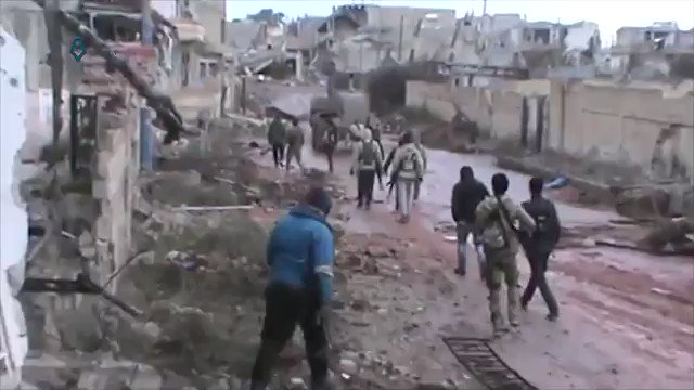 West Daraa: clashes continue in Al-Manshiyah between Al-Bunian Al-Marsous op. room and pro-Government forces where front is stabilizing.
