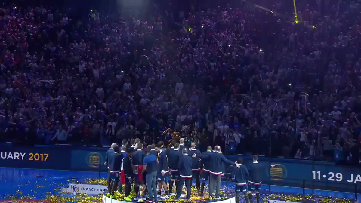 What a thrilling moment from France 2017 😍🇫🇷👏 #Handball2017 #IHF #Hand...
