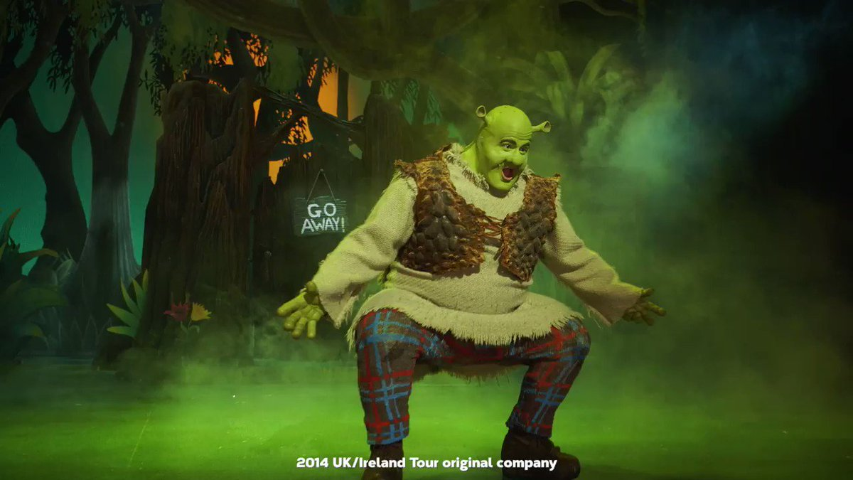 SHREXCLUSIVE! You thought it was all Ogre! … well Shrek is coming to a swamp near you!