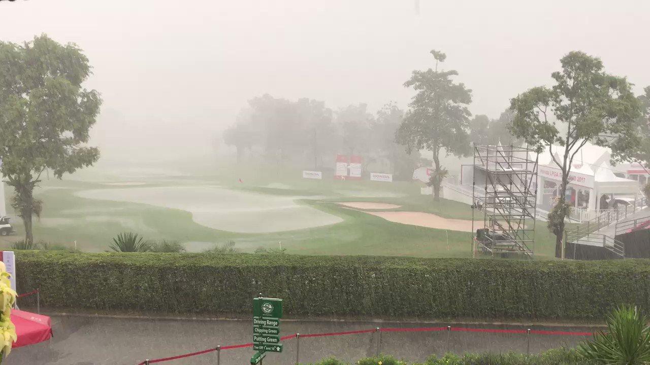 Thumbnail for Honda LPGA Thailand Round 2 Weather Delay