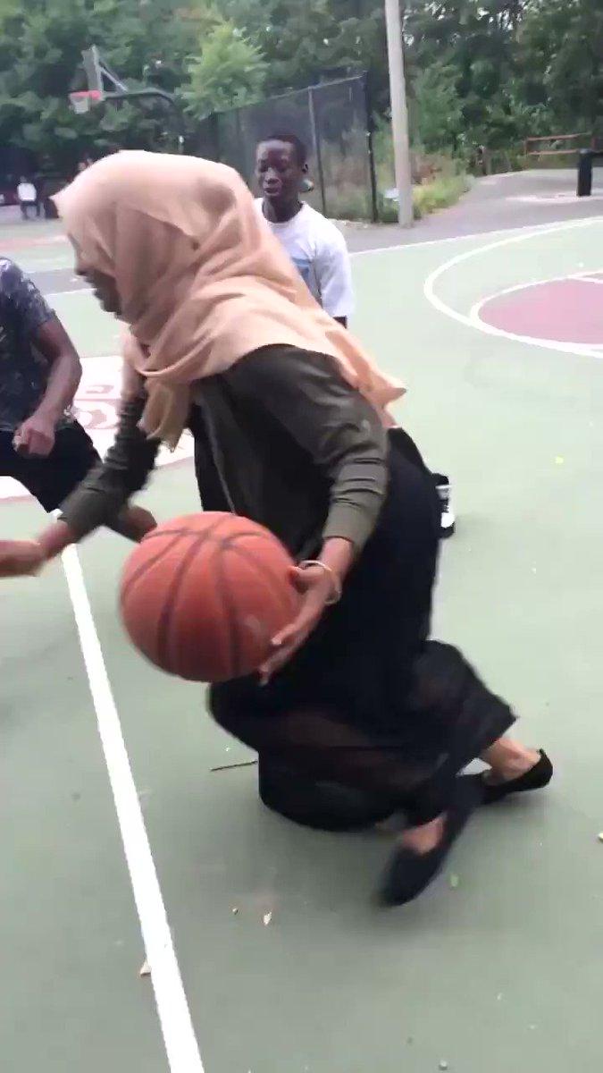 In the name of Allah she killin niggas