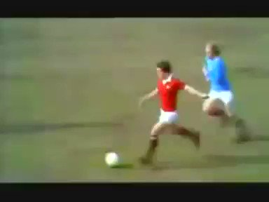 .thegingerwig: Never Forget: Happy Birthday Denis Law - 77 today Here\s his finest moment!