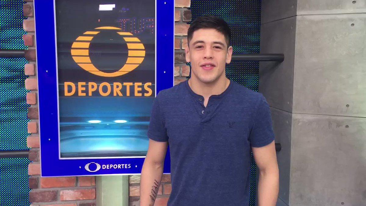 Desde el estudio de @TD_Deportes, @theassassinbaby los invita a que vean su pelea contra @DustinOrtizMMA este próximo 22 de abril 👊🏻😉 https://t.co/lZVHTIWsMi