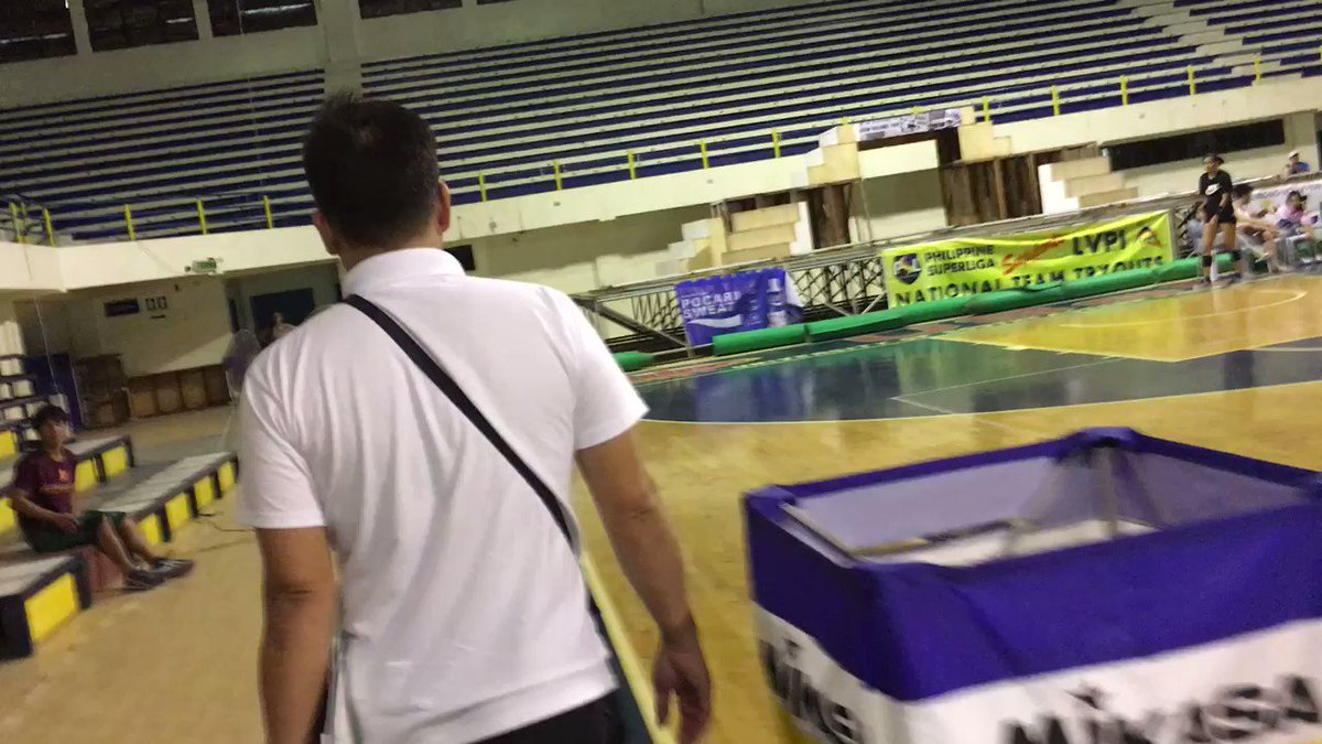 WATCH: @AlyssaValdez2 reunites with former coach Francis Vicente | @marcreyesINQ https://t.co/r2zdzxI32L