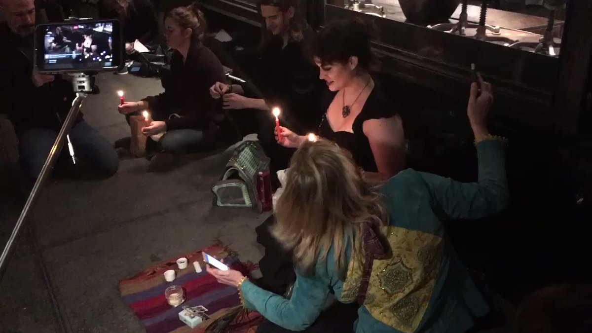 "Witches And Christians Went Head-To-Head During A Spell Of ""Magical Resistance"" Against Trump"