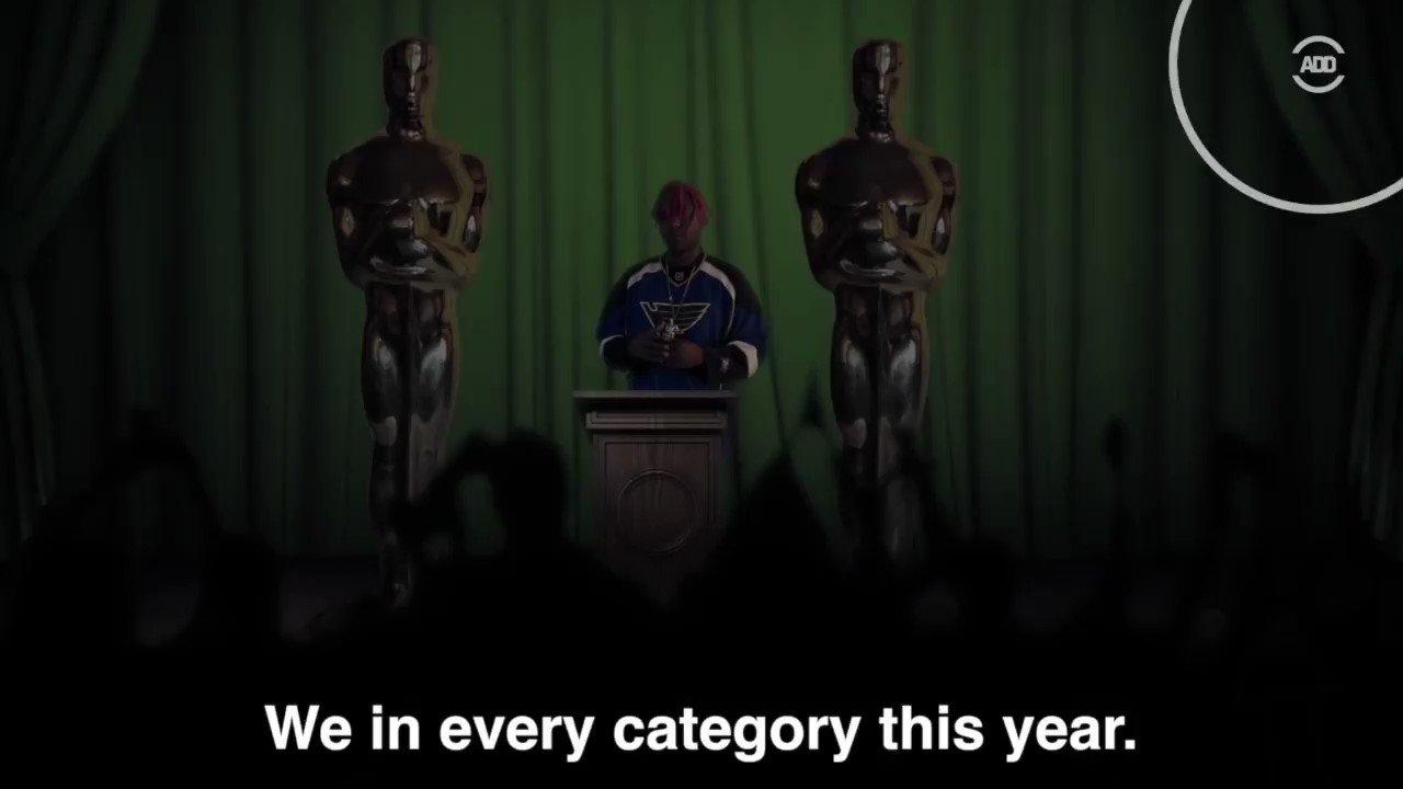 "RT @AllDefDigital: ""Black Ass Oscars"" -@DoctorChorizo (Inspired by @lilyachty )   #ADMA tomorrow @ 7pm ET on @Fusion https://t.co/cSmxHzfNIi"