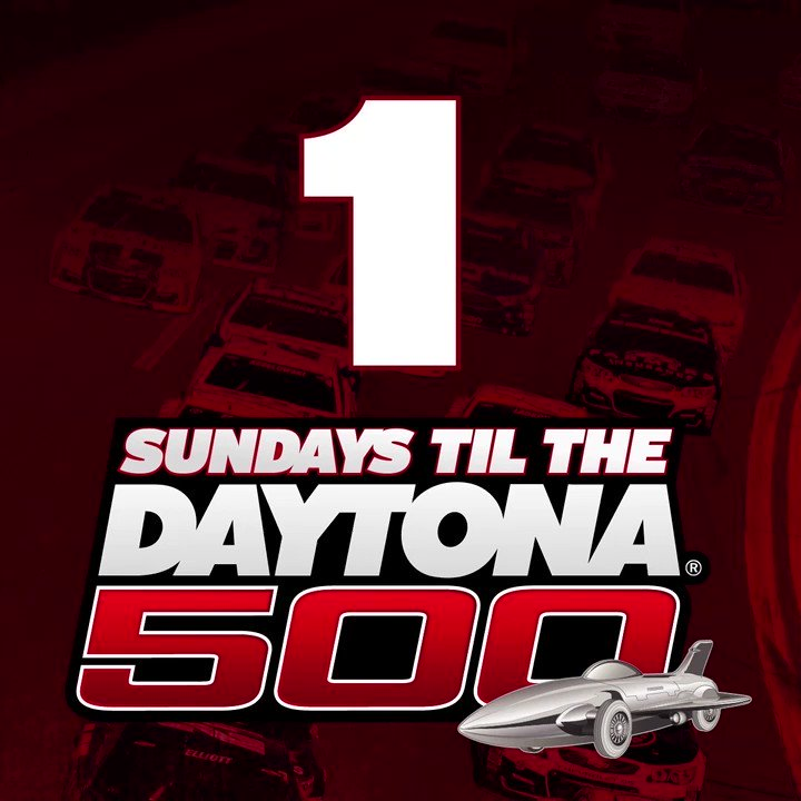 It's here.  Retweet if you're pumped for the #DAYTONA500! https://t.co...