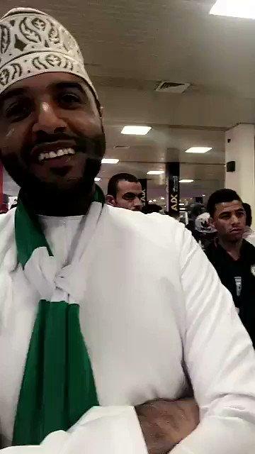 فيديو .. جماهير #الأهلي في عمان .. مطر و الأهلي في قلب عمان .. #ملوك_ع...