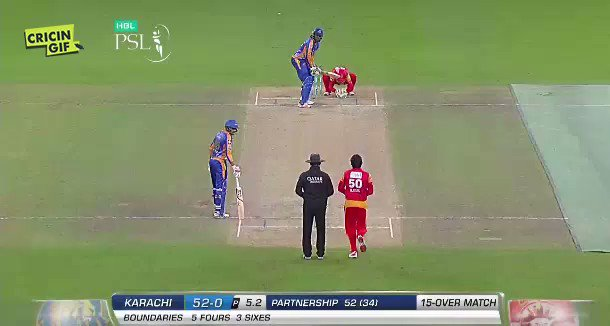 5.3  SIX! Saeed Ajmal to Chris Gayle! watch https://t.co/E2ys92cdft #I...