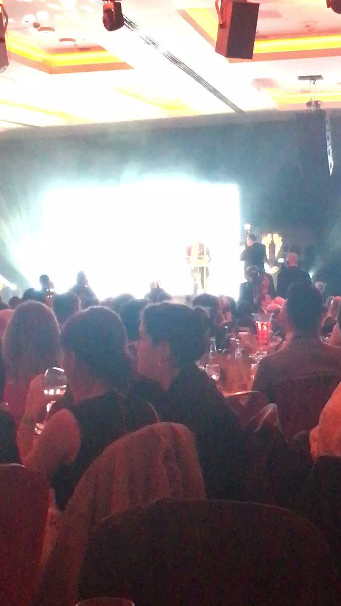 Thank you to @KebabAwards founder @ibrahim_Dogus! #britishkebabawards...