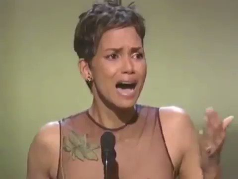 throwback to the 2002 #Oscars when Halle Berry became the first black...
