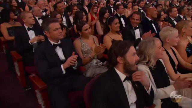 .@jimmykimmel pokes fun of Matt Damon's #GreatWall #Oscars https://t.co/zE5t4inrB6
