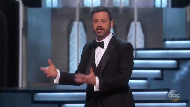 And @jimmykimmel makes the first @realDonaldTrump reference #Oscars https://t.co/shVqLGI56A
