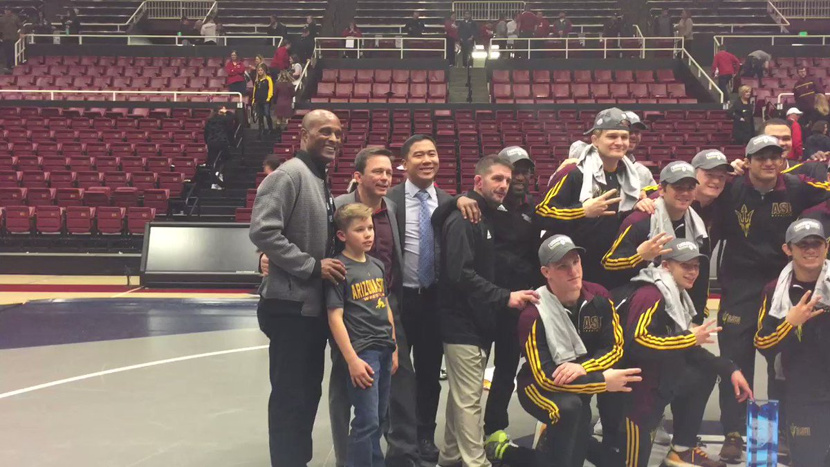 Your 2017 @pac12 team champs...for the first time in 11 years....ARIZONA STATE SUN DEVILS!!!!!!!!!!!! https://t.co/O7GmI8EDCE