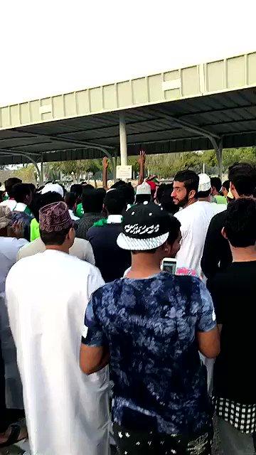 فيديو .. جماهير #الأهلي .. تردد ' للأهلي جينا ' .. #الاهلي_ذوب_اهن .....