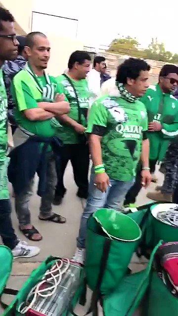 فيديو .. وصول رابطة النادي #الأهلي .. #الاهلي_ذوب_اهن #دوري_ابطال_اسيا...