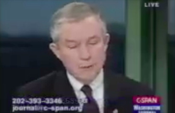 Jeff Sessions in 1999 speaking on the importance of prosecuting Bill Clinton over perjury allegations https://t.co/LCV6AqZB17